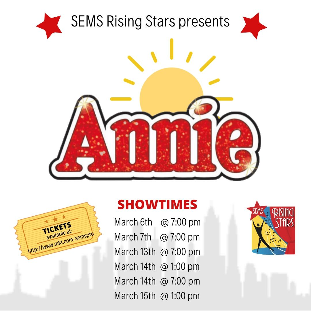 Annie: The Musical Showtimes