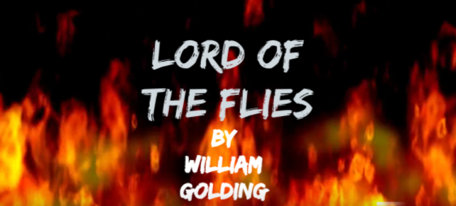 cover image for Lord of the Flies book trailer