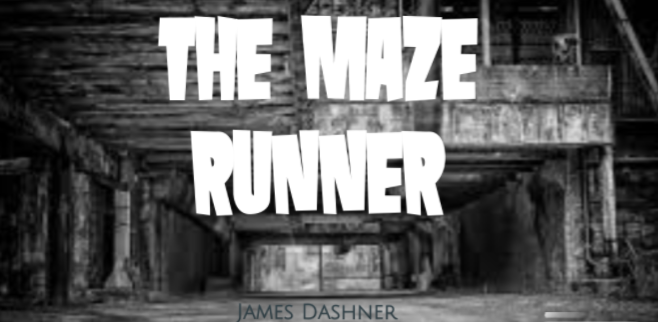 cover image of the Maze Runner book trailer