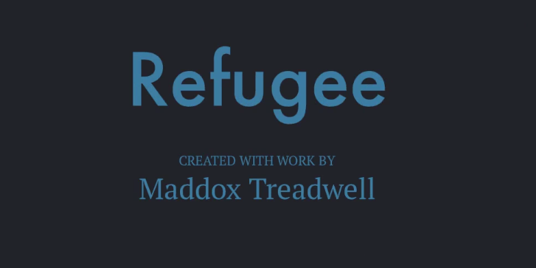 Cover image for Refugee book trailer